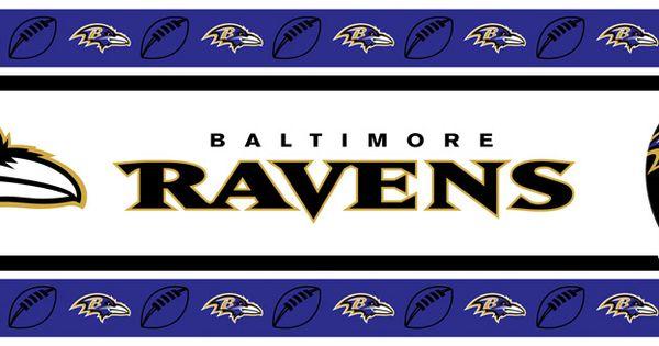 Baltimore Ravens Wallpaper Border 21 95 Http Www