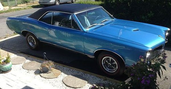 Purchase Used 1967 Gto Tyrol Blue In Norwalk Connecticut United States 1967 Gto Pontiac Gto Gto
