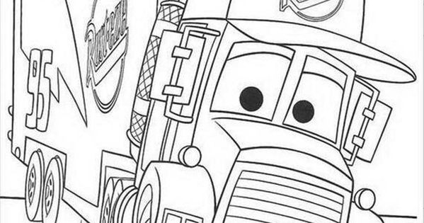Download and Print Coloring Pages For Mack The Truck ...