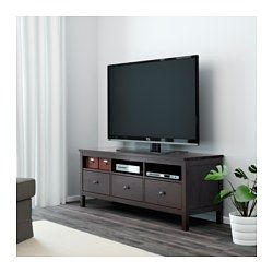 Ikea Tv Meubel Zwartbruin.Hemnes Tv Meubel Zwartbruin Appartement Meubels Meubels En Tv