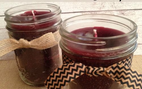 How to Make Homemade Candles in 5 Easy Steps! Holiday Decorations and