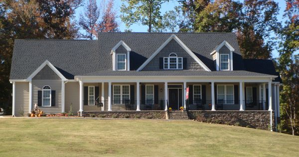 One story brick house plans with wrap around porch and tin for Brick home plans with wrap around porch