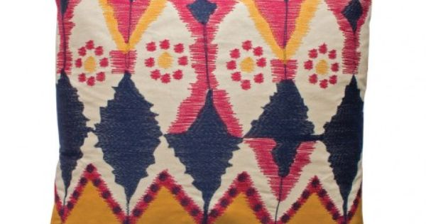 Java Ikat pillow by koko company
