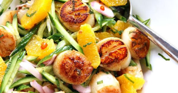 Scallops, Summer and Seaweed on Pinterest