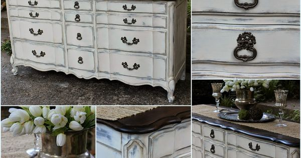 Vintage country style french provincial dresser rehab for Bedroom furniture kabat