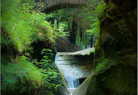 Old Man's Cave Gorge, Hocking Hills State Park, Ohio