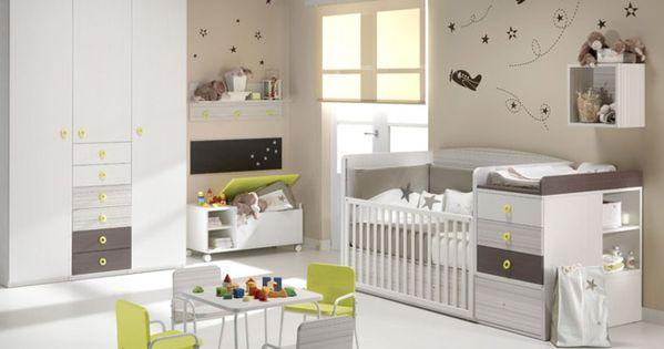 C mo combinar colores habitaciones beb s habitaciones - Colores habitacion ninos ...
