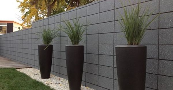 20 Series Block Wall Fence Wall Design Concrete Block Walls Concrete Retaining Walls