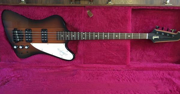 Gibson Thunderbird 2015 With Gibson Case Cool Guitar Gibson Thunderbird