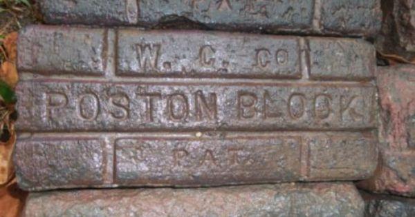 Price Reduced 85 Year Old Vintage Poston Bricks 338 Total Bricks Brick Images Brick Vintage