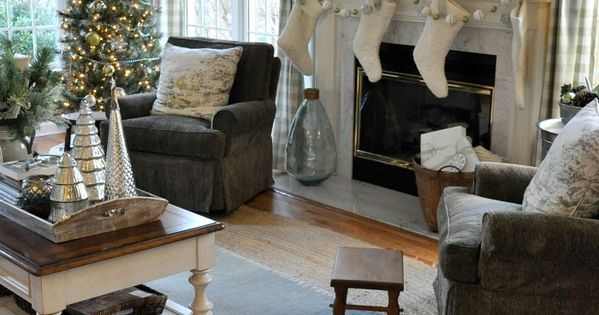 fabulous matching gray chairs from craigslist and gray and white buffalo check curtains from. Black Bedroom Furniture Sets. Home Design Ideas