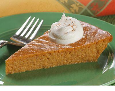 crustless pumpkin cake