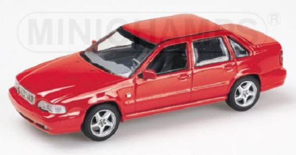Volvo S70 1998 In Indiana Red 1 43 Scale Minichamps Volvo Toy Car Red