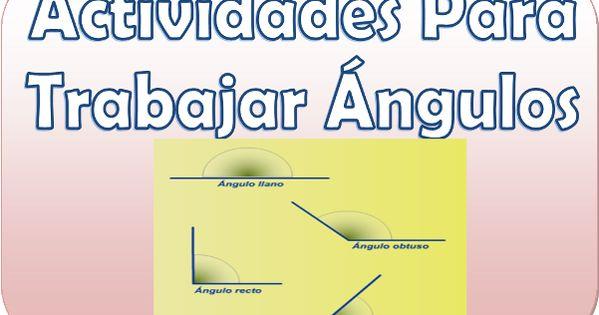 Actividades para trabajar los ngulos en cuarto y quinto for Cuarto y quinto metatarsiano