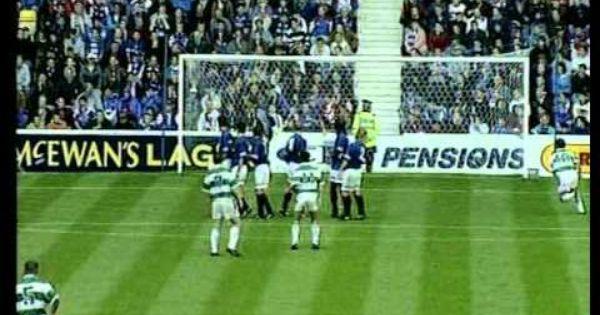 Rangers 0 Celtic 2 Old Firm Celtic Ranger