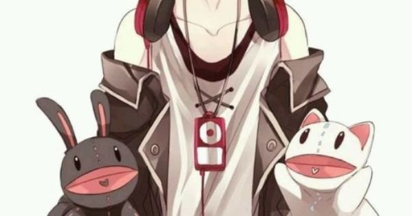 The headphones, jacket, baggy bro tank, puppets... everything feels so perfect