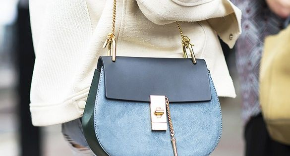 Chloe Drew Mini Bag in Cement Pink | F A S H I O N | Pinterest ...