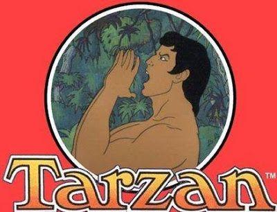 Tarzan O Rei Das Selvas Personagens Classicos De Desenhos