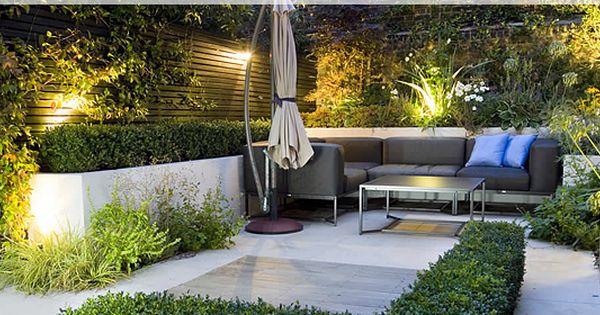 Kleine stadstuin tuin berchem pinterest tuin tuinontwerp en buiten - Kleine tuin zen buiten ...