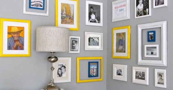How To Hang Frames On Walls Without Nails Decorating