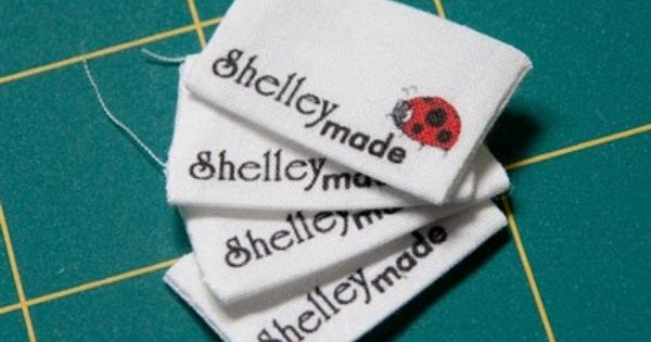 Make Your Own Clothing Labels Tutorial Sewing Labels Custom Printed Labels Printing Labels