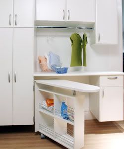 These Creative Ironing Board Ideas Are The Perfect Way To Utilize Every Last Inch Of Your Work Space Ikea Laundry Room Laundry Room Design Laundry Room Storage
