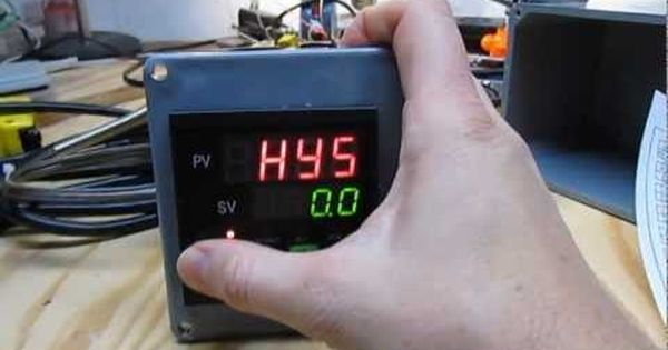 Pid Temperature Controller For Heating X2f Cooling Of Beer Fermentation Youtube Fermentation Temperature Control Heating And Cooling