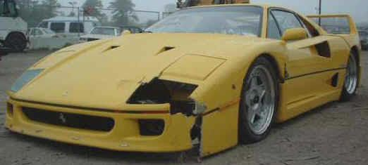 Wrecked Damaged Salvage Rebuildable Ferrari Cars For Sale Ferrari For Sale Ferrari Car Commodore