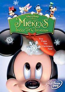 Mickey S Twice Upon A Christmas Mickey Christmas Mickey Christmas Dvd