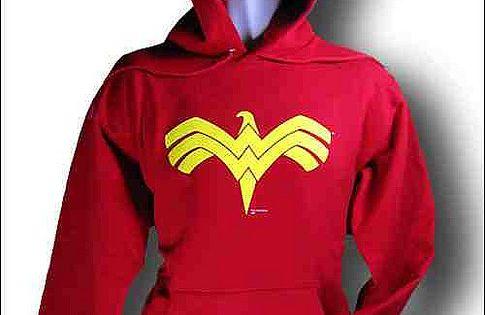 wonder woman eagle symbol hoodie by bitchbuzz via flickr