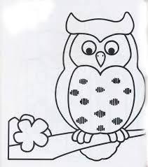 Resultado De Imagen Para Buhos Para Pintar Owl Applique Owls Drawing Owl Patterns