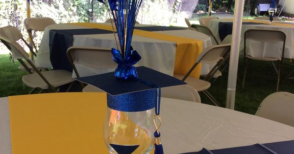Royal Blue And Gold Graduation Party By Ev Events And Rentals Graduation Finds Pinterest
