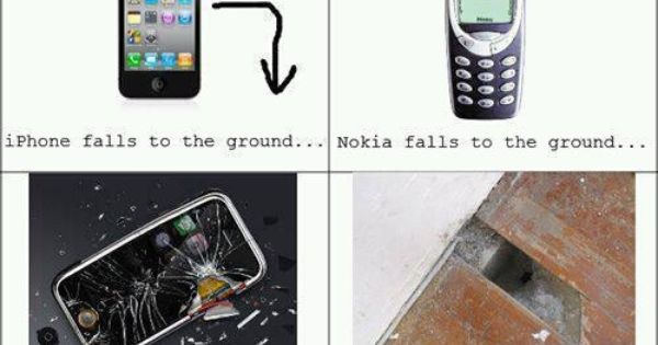 You Could Replace The Nokia Phone With Any Android Phone And Get The Same Result Iphone Nokia Meme Iphone Meme