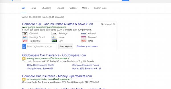 Google To Close Its Financial Comparison Service Insurance