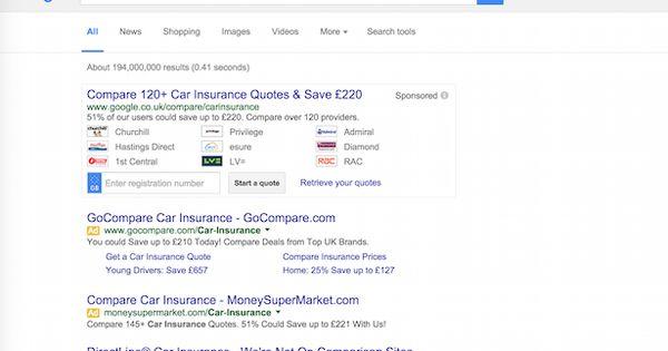 Google To Close Its Financial Comparison Service Insurance
