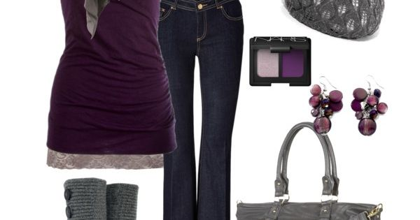 Not really my style but purple and grey are my all time