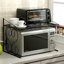 Microwave Stand Ikea Google Search Kitchen Appliance Storage Small Kitchen Appliance Storage Kitchen Countertop Organization