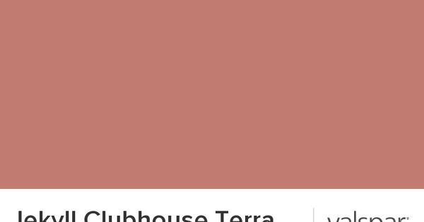 Jekyll Clubhouse Terra Cotta From Valspar Angie 39 S Bedroom Paint Pinterest Valspar