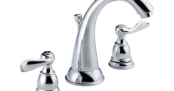 Delta Addison Chrome 2 Handle Widespread Watersense: 35996LF Windemere® Two Handle Widespread Lavatory Faucet
