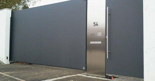 Pin De Vinay Ry En Boundary Wall Designs Puertas Corredizas Automaticas Puertas De Garaje Puertas Deslizables