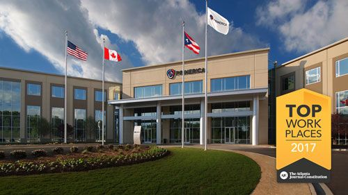 Primerica S Home Office Was Just Named To The Atlanta Journal Constitution S List Of The 150 Best Wor Best Workplace Life Insurance Humor Life Insurance Quotes