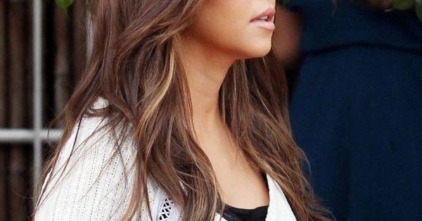 Kourtney Kardashian's hair, adore it | Hairdo's and Makeup ...
