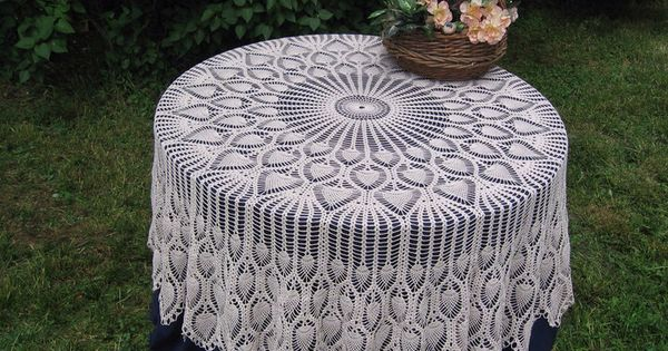 Tablecloths - haken Pinterest - Haken