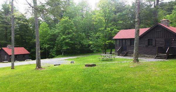 Cabins at gilbert lake state park visit new york state for Cabins new york state