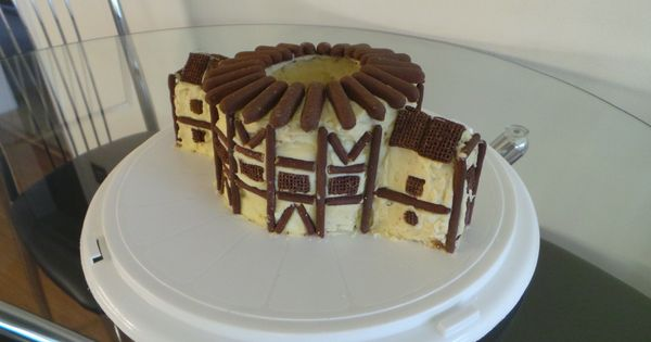 Globe Theatre Cake Best Kid Ever Caleb