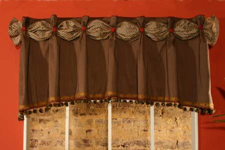 Dana Curtain Valance Sewing Pattern Valance Patterns Valance