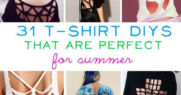31 t shirt DIYs