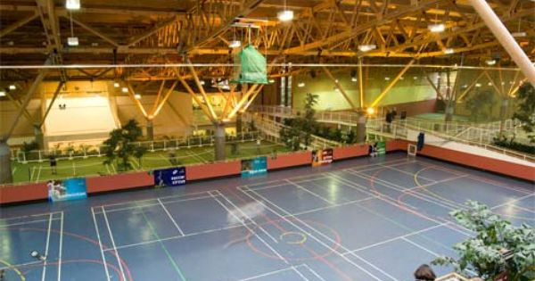 Indoor Sports Hall At Center Parcs Whinfell Forest Indoor Sports Sport Hall Center Parcs
