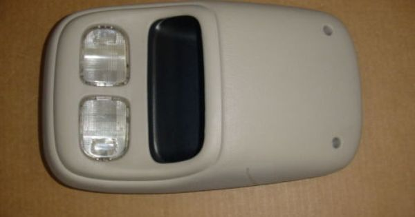 94 95 96 97 Dodge Ram 1500 2500 Overhead Roof Console W Map Lights Dodge Ram Dodge Ram 1500 Ram 1500