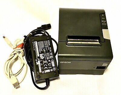 Epson Tm T88iii Thermal Receipt Printer Model M129c Refurbished White Printer Epson Printing Methods